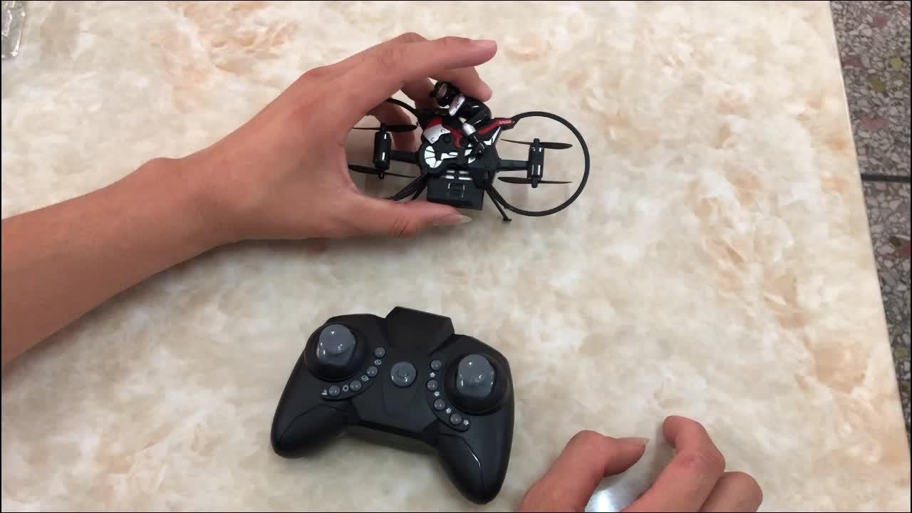 2.4G più piccolo 4.5 cm mini pocket survey drone, quadcopter elicottero