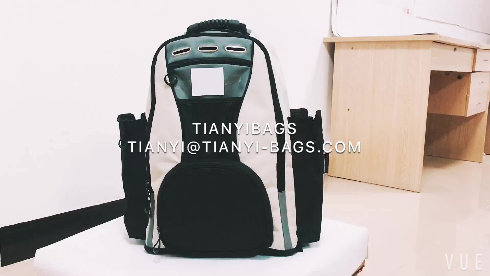Custom Badminton Backpack Hot Sale Sports Backpack With Shoes Compartment