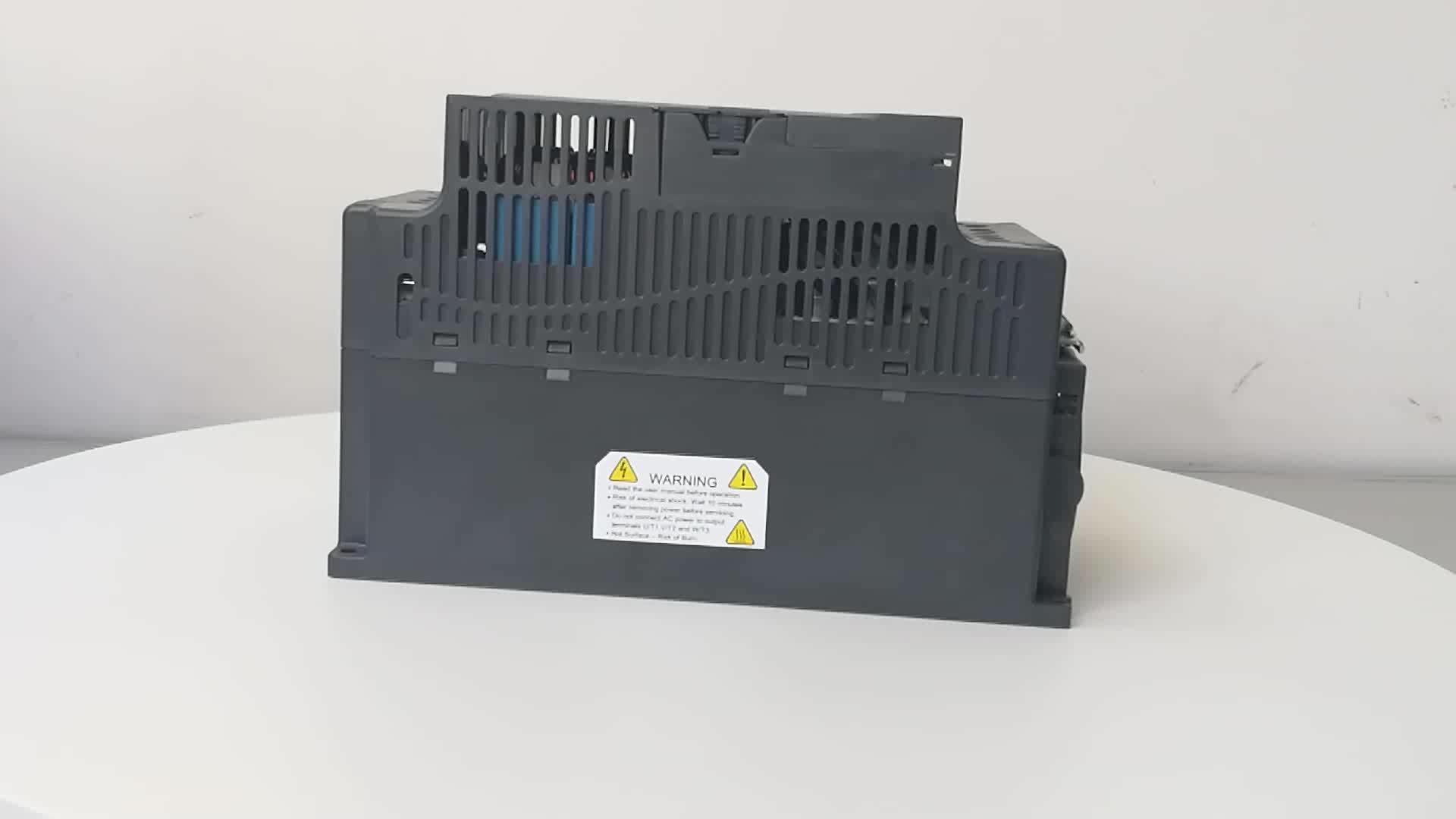 vfd ac motor drive 3hp 3 phase 380v 2.2kw inverter Delta frequency inverter ac motor speed controller