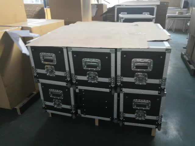Custom DJ flight case CD cases