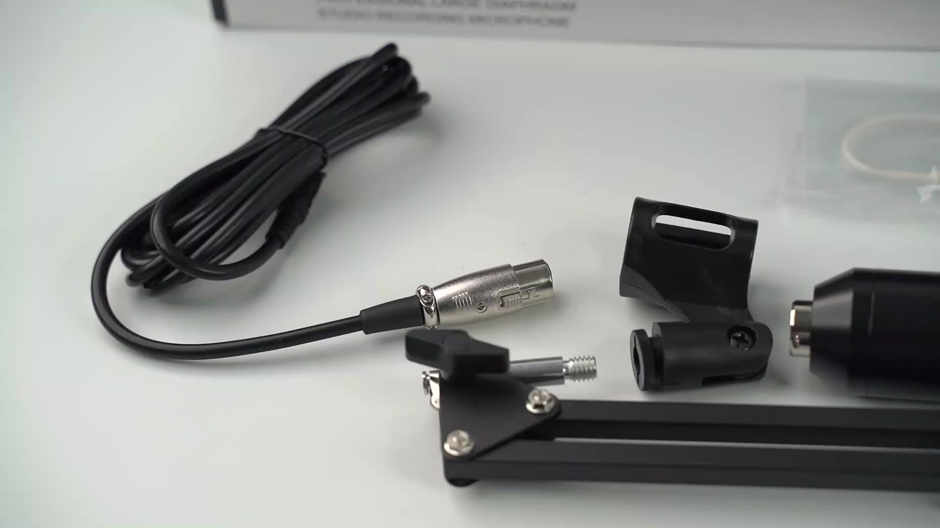 Профессиональный микрофон USB студия звукозаписи складной bm800 конденсаторный микрофон