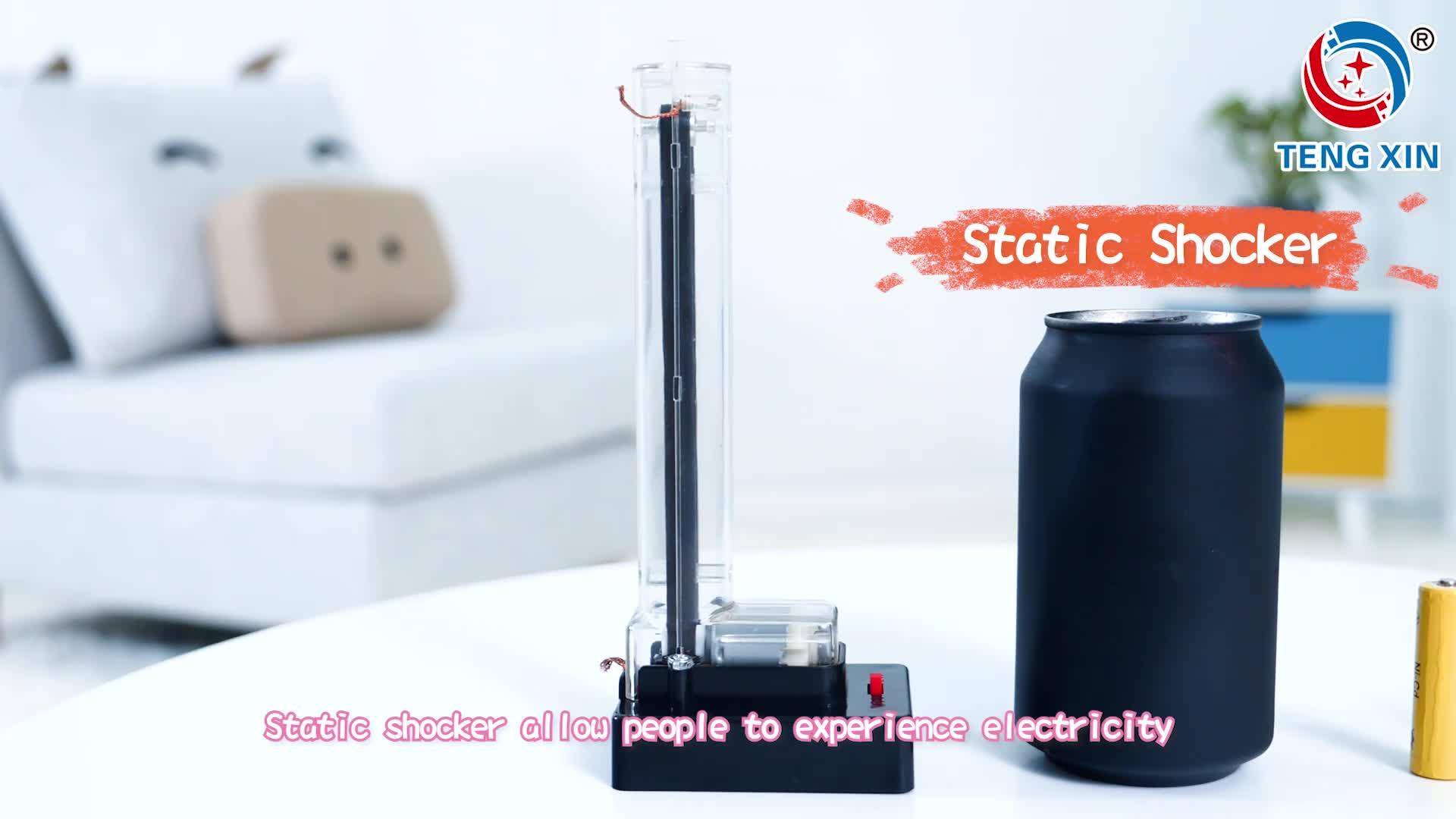 Tengxin 과학 장난감 밴 드 Graaff 발전기 물리적 실험