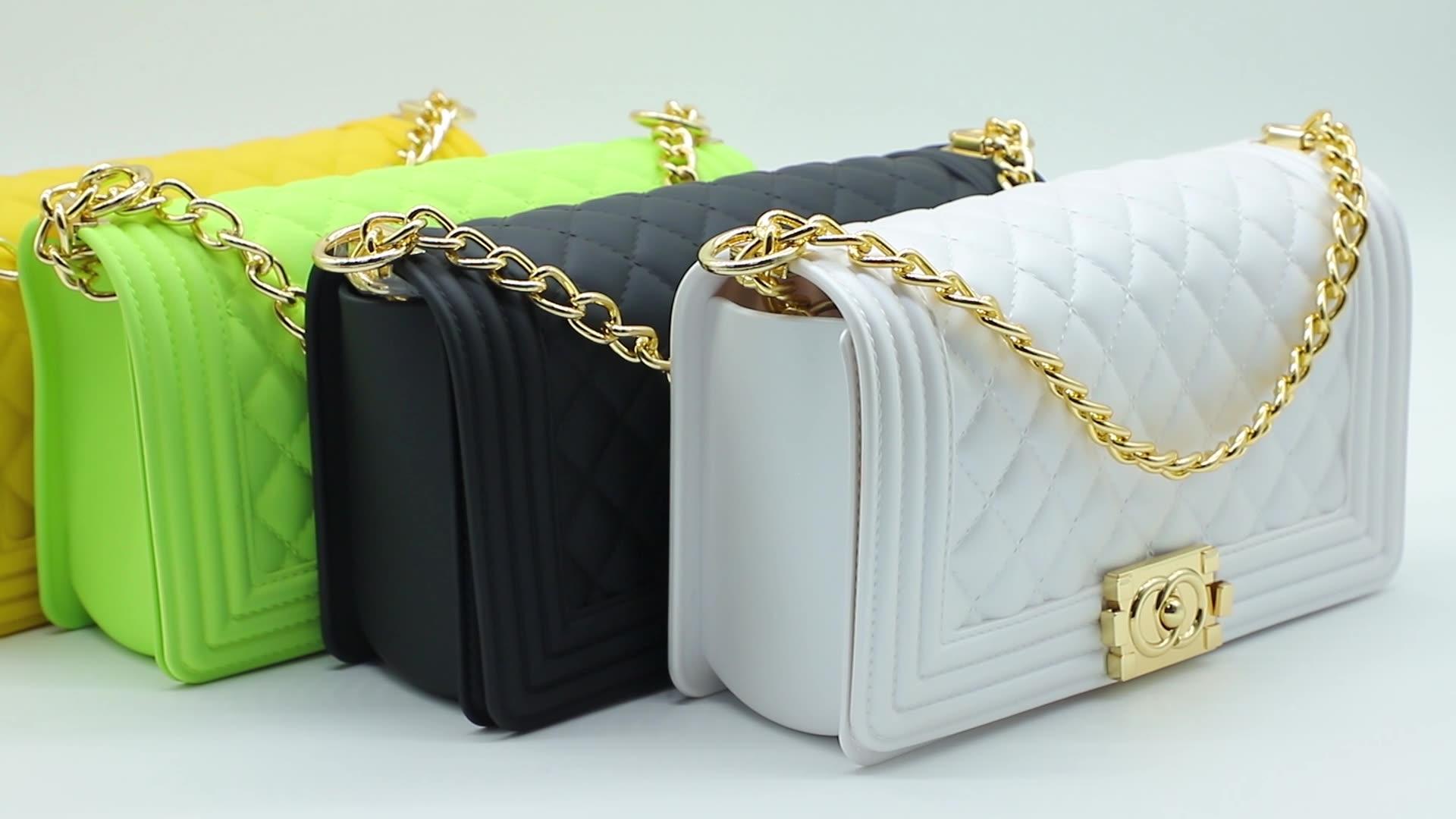 ג 'לי ארנק 2020 חדש כניסות גואנגזו מפעל סיטונאי אופנה גבירותיי pvc ג' לי ארנקים ותיקים