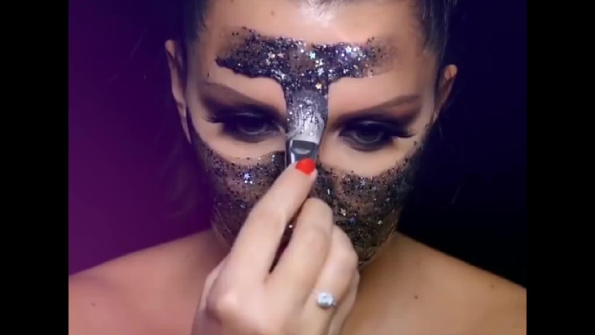 Private Label Coreano Idratare Glitter Star viso Maschera Peel Off Glow Maschera Per il Viso