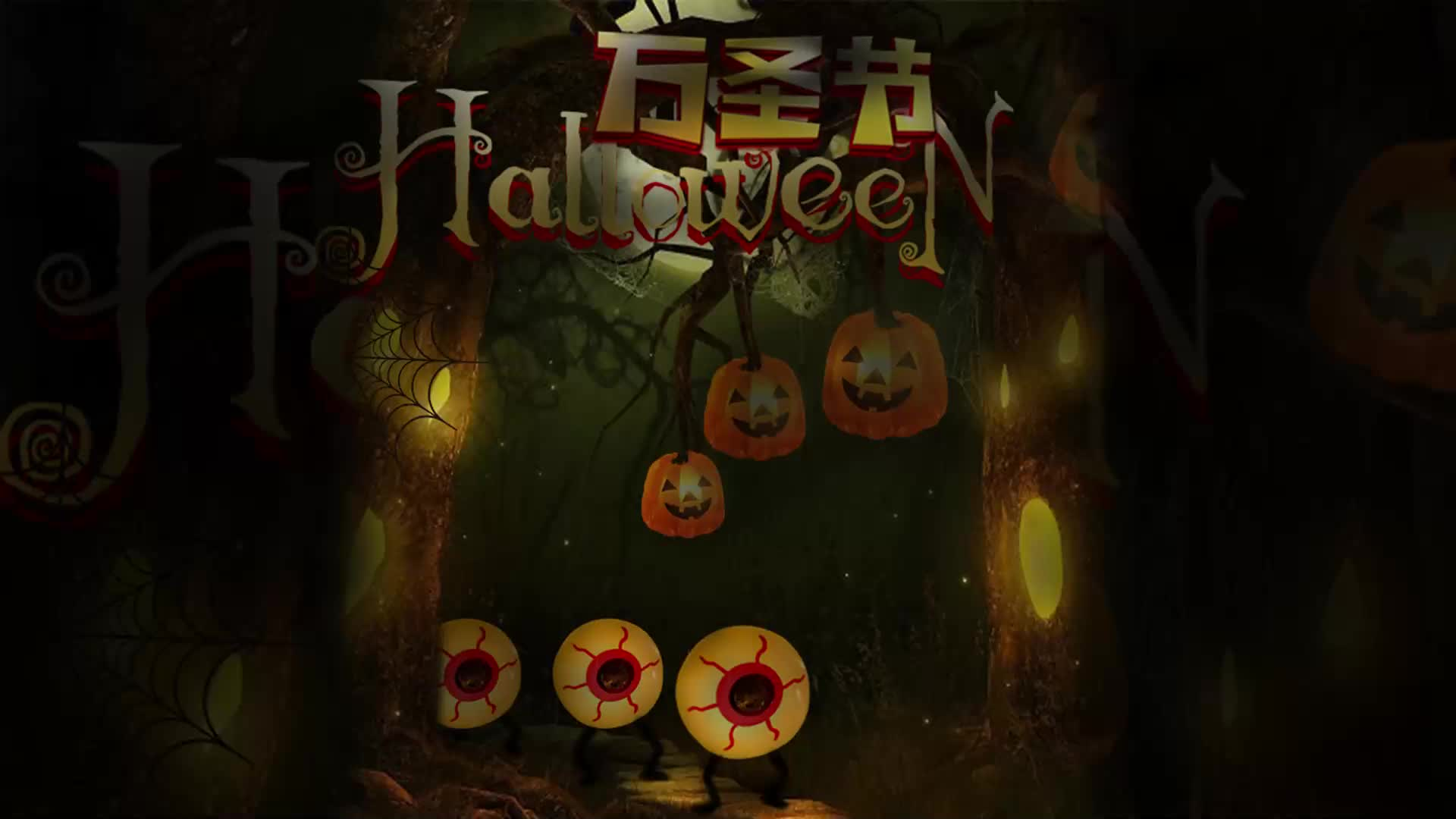 Halloween Decoration Battery Included Battery Powered LED String Lights