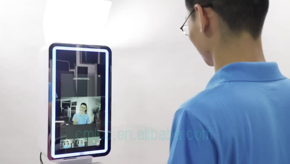 WiFi Interactive 21.5 inch Touch Screen Digital Signage Kiosk Indoor LCD Display Photo Booth