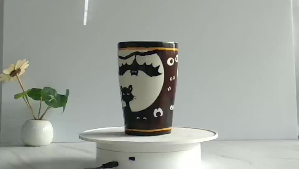Innovative products export oem  Ceramic Color Changing Coffee Mugs
