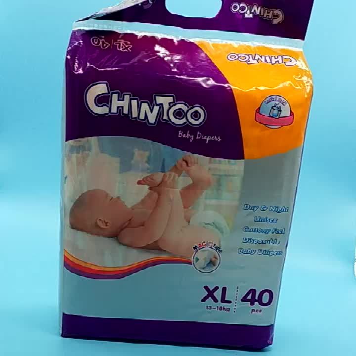 Disposable Cartoon Baby Diaper  From China Hot Sale baby nappies Factory Price Free Sample