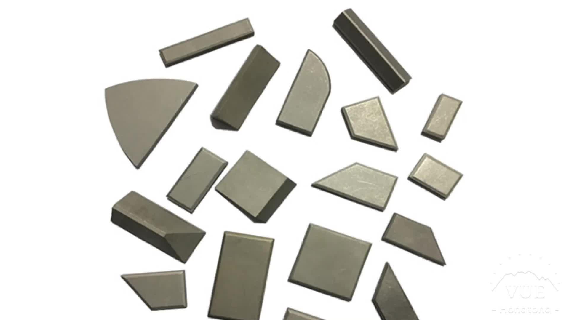 Agricultural machine replacement parts carbide fertilizer tips