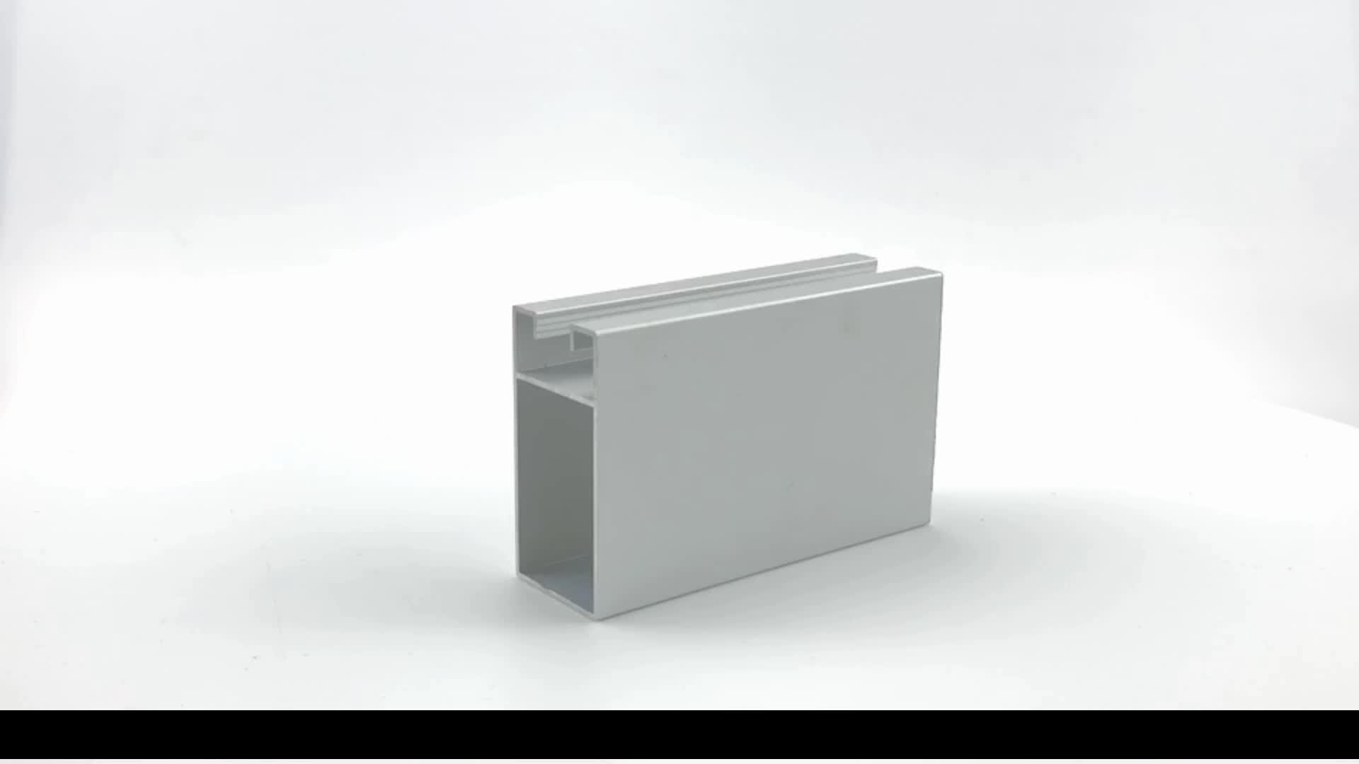 OEM Manufacturer International Anodized Extruded Aluminum Section Profile  for Sliding Door and Windows