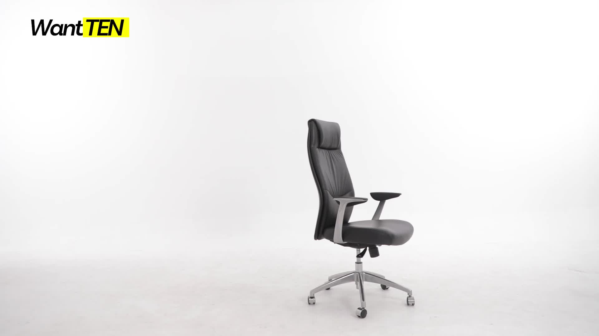 Ignition Seating From Wantten Synchro-tilt mechanism reclines the back Swivel Chair For Manger Office B1809