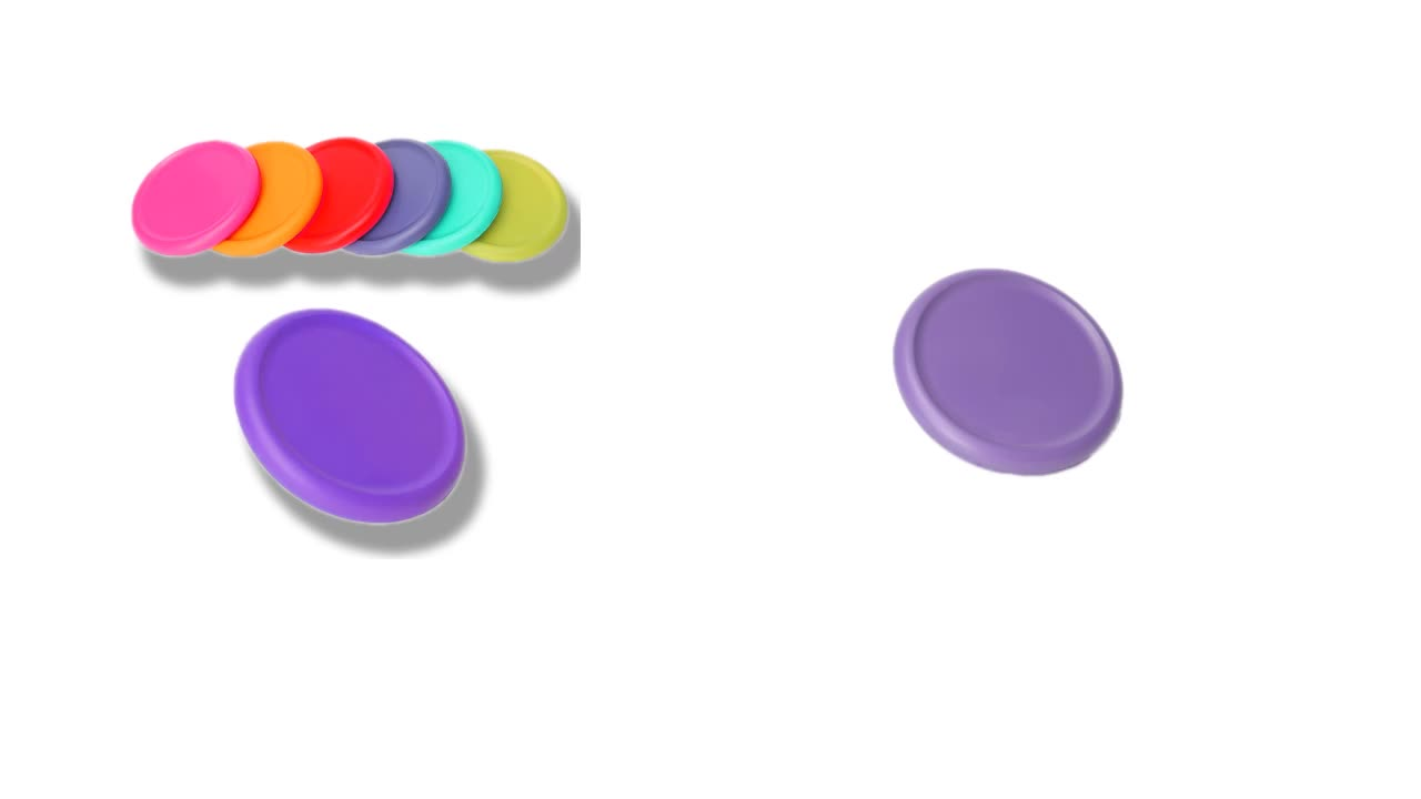 Outdoor wholesale mini recyclable PU flying disc sport toy colorful