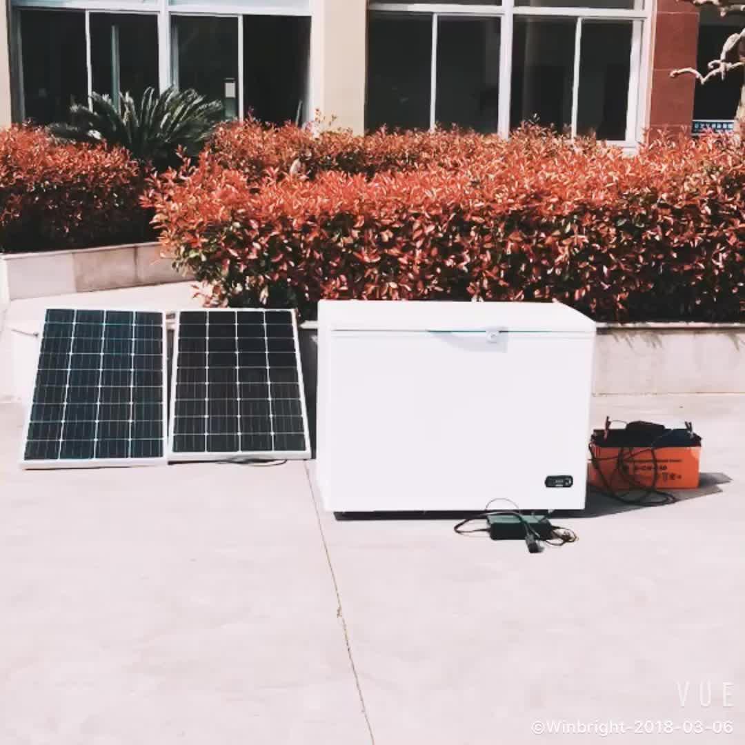 Winbright 268 Liters DC12V 24V Solar deep chest freezer