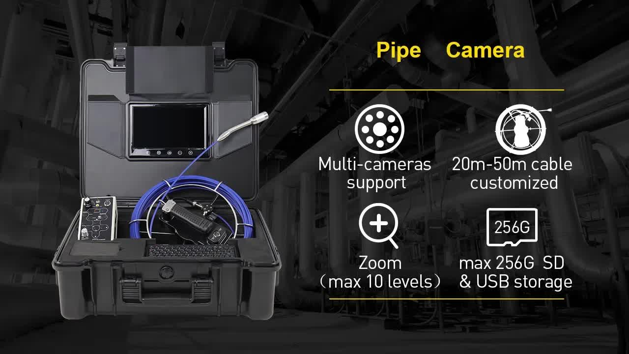 Newly Residential Pipeline Video Inspection Camera Endoscope