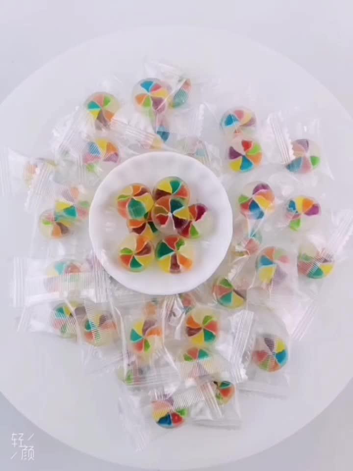 Hala Mini frutta caramella dura artificiale dolce della caramella di frutta a forma di caramella dura