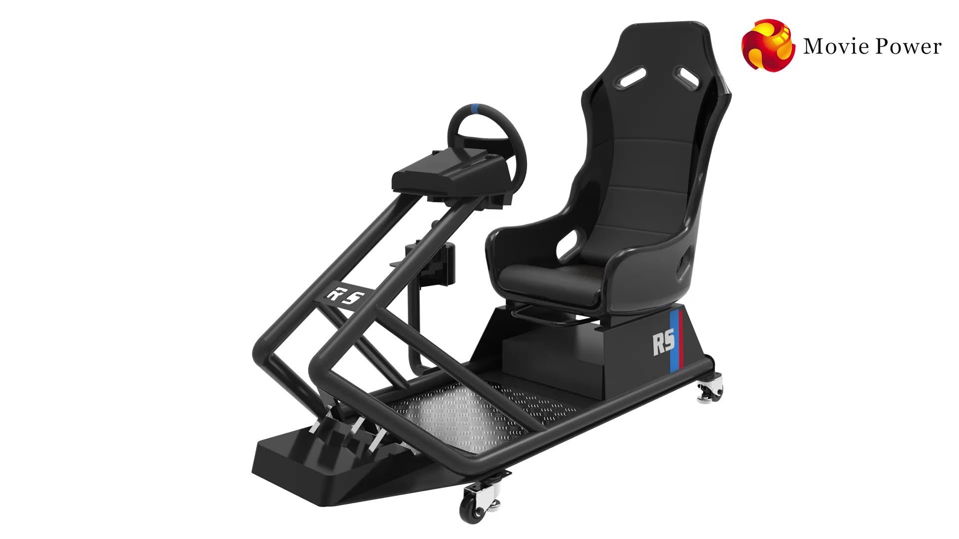 Новый дизайн мини симулятор вождения стул гоночный автомобиль игра с F1 игра автомобиль симулятор кокпит на продажу
