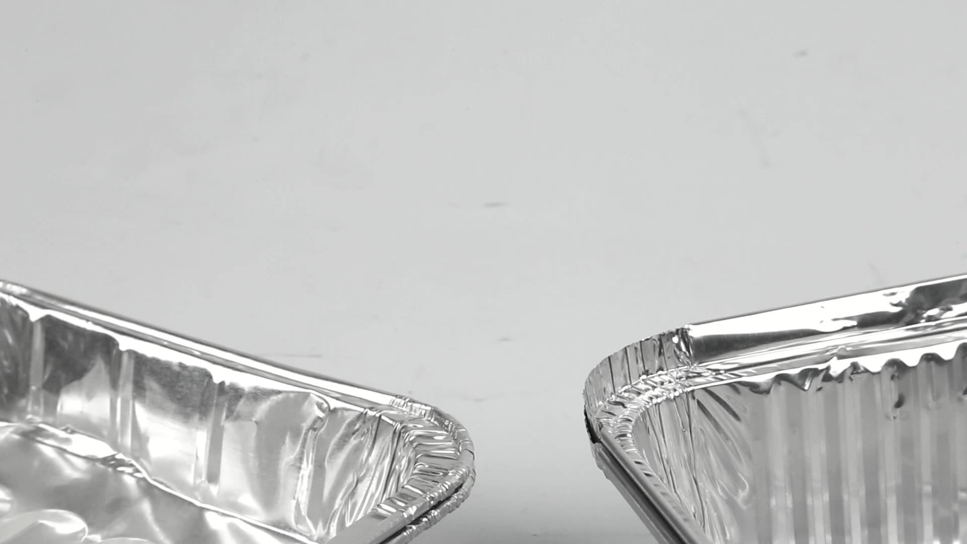 Food Grade Full Size Aluminum Foil Container/Disposable Food Packaging Tray