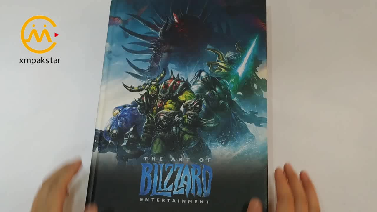 Custom publish hardcover full color photo adult comic book printing service