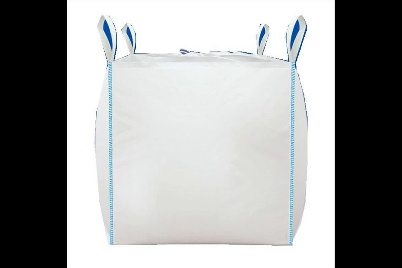 चीन कारखाने थोक पीपी बुना जंबो बैग बड़ा FIBC बैग पैकिंग के लिए रेत