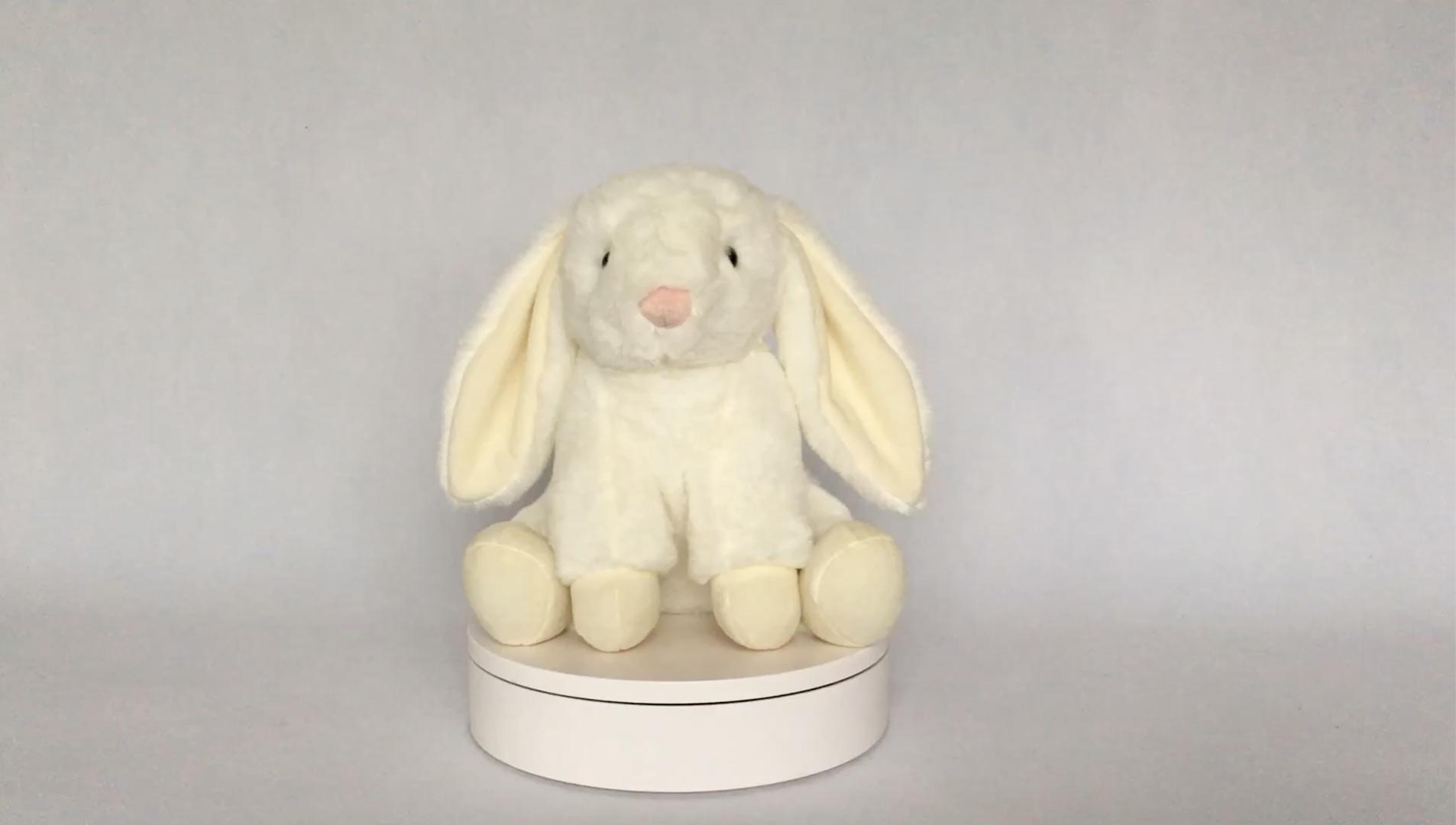 Plush easter bunnies หูยาวตุ๊กตาตุ๊กตากระต่ายตุ๊กตากระต่ายตุ๊กตาสัตว์