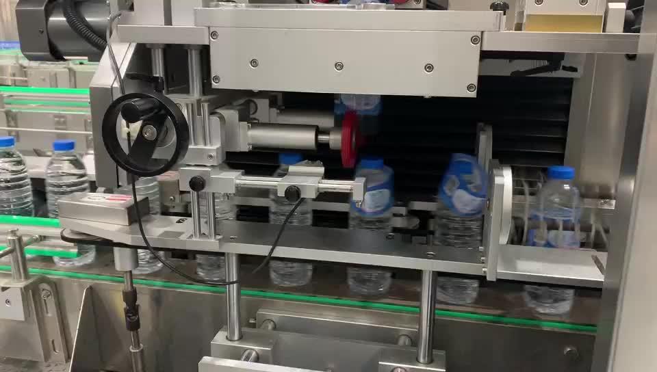 Automático etiquetador garrafa rodada/etiqueta de borracha que faz a máquina/máquina de impressão de etiquetas de mesa