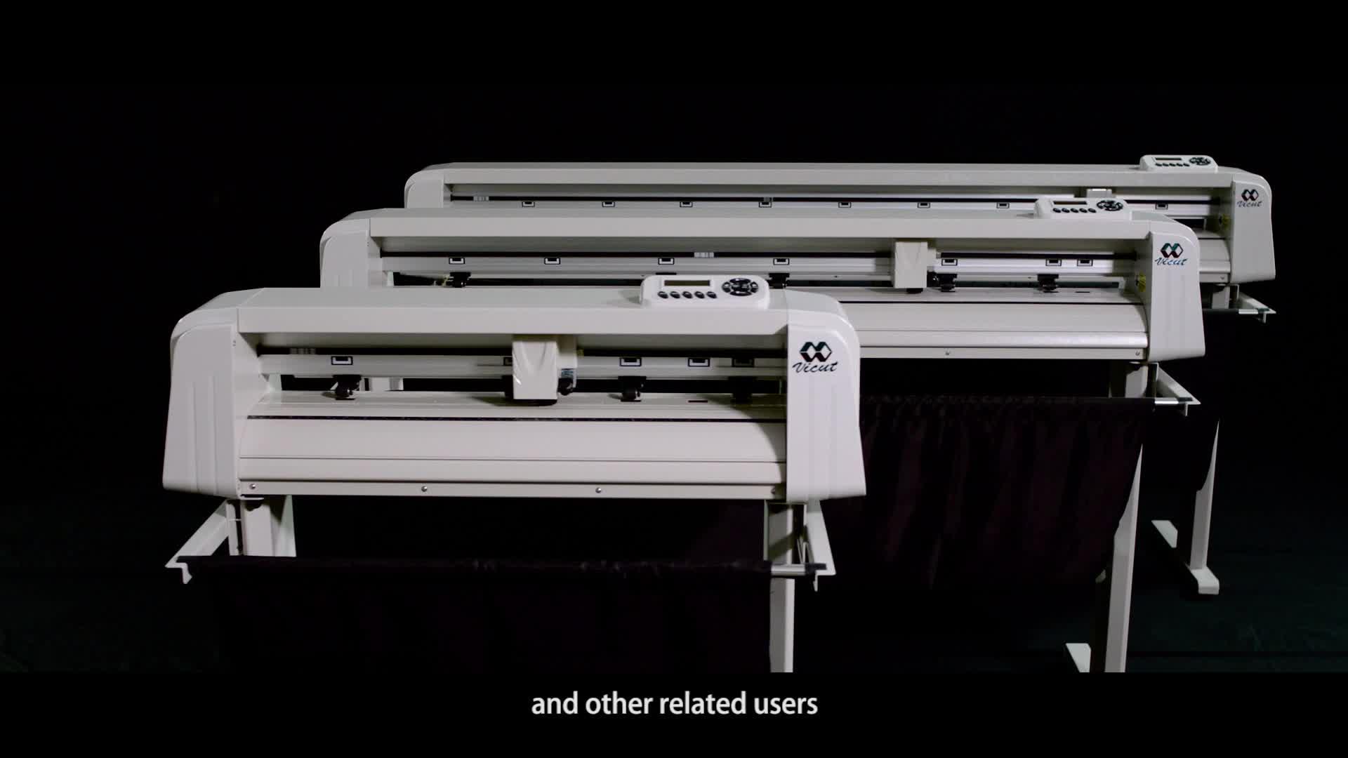 เครื่องพิมพ์สติกเกอร์และตัดไวนิลเครื่องพิมพ์ล็อตเตอร์ตัด