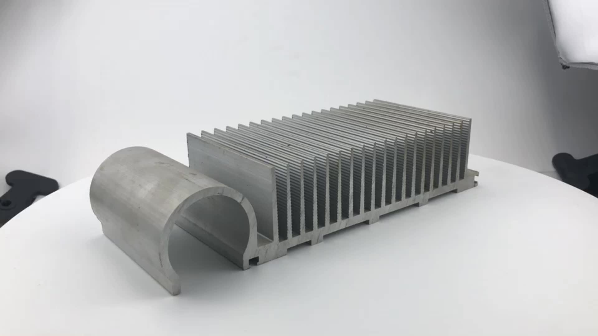 China Factory Large size amplifier water cooling extruded aluminum heatsink for USA led lamp