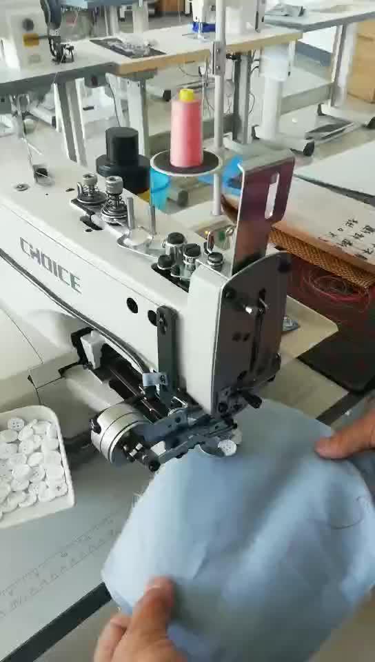 गोल्डन विकल्प GC1377 उच्च गति पार सिलाई बटन संलग्न औद्योगिक सिलाई मशीन