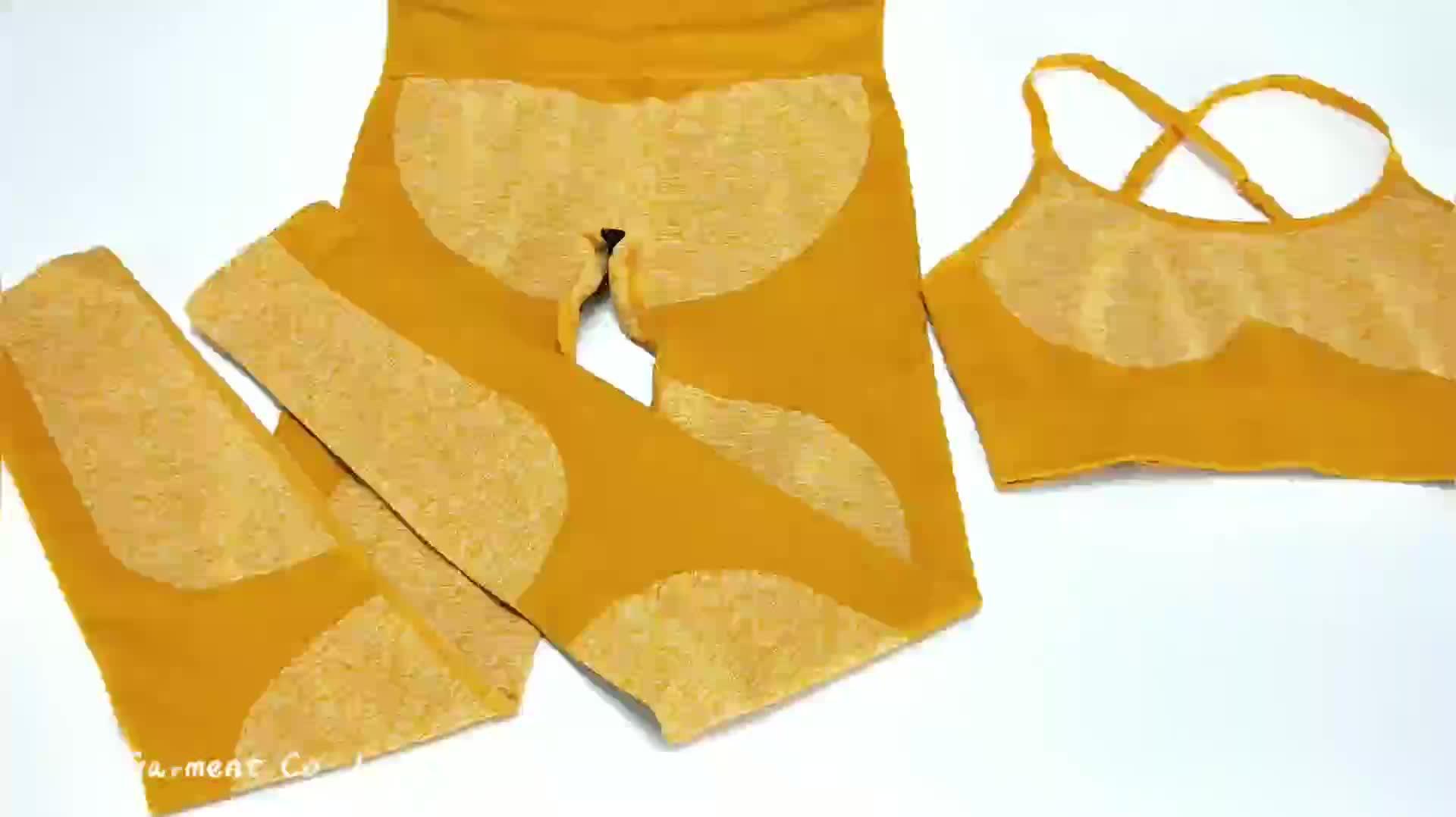 2 टुकड़े Ombre जिम सेट योग सेट महिलाओं जिम कपड़े खेल ब्रा और लेगिंग महिला जिम खेलों महिला फिटनेस कपड़े सूट
