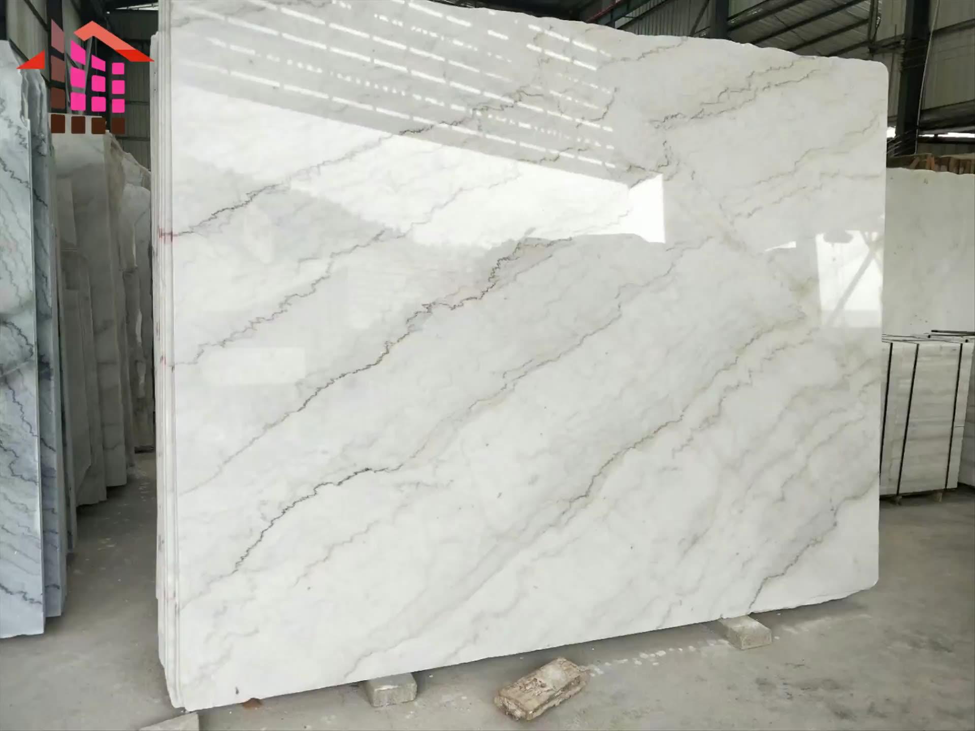 Mermer fayans çin aşk ev taş doğal beyaz mermer fiyatı metrekare başına zemin beyaz mermer fayans