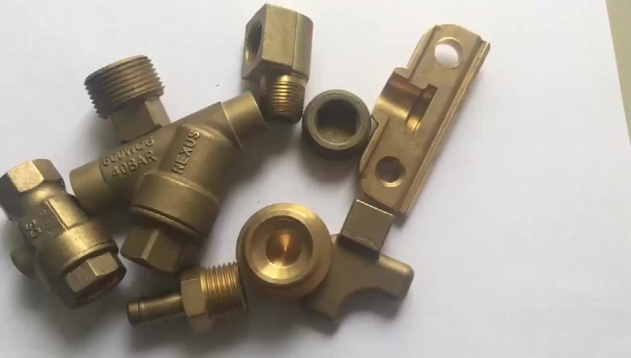 Customized Drawing Design Special Shaped Casting And Brass Forgings