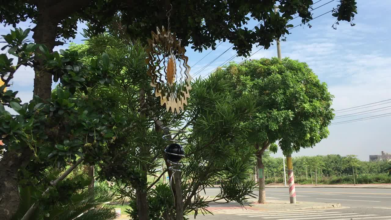 Kualitas Tinggi Stainless Steel Hewan Gantung Logam Wind Spinner untuk Rumah atau Taman Dekorasi