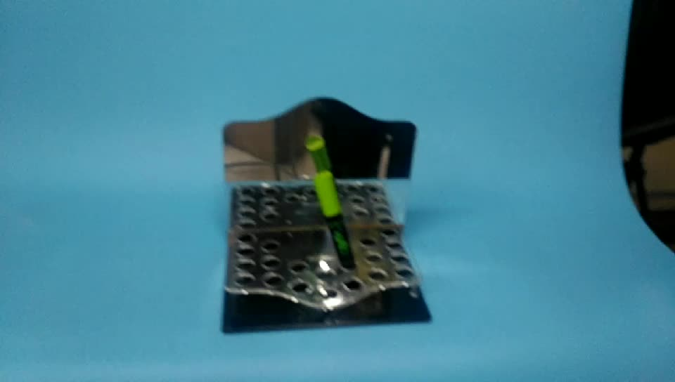 Customized Black Eye Liner Pen Display Stand