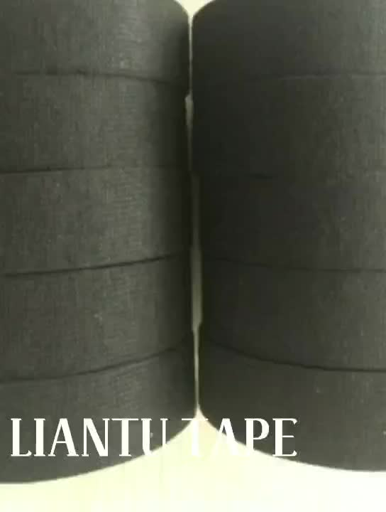 Polyester non-woven fleece automotive wiring harness adhesive insulation tape