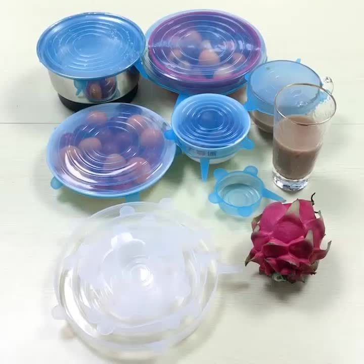 Legenday Free Sample Reusable Silicone Stretch Food Lids