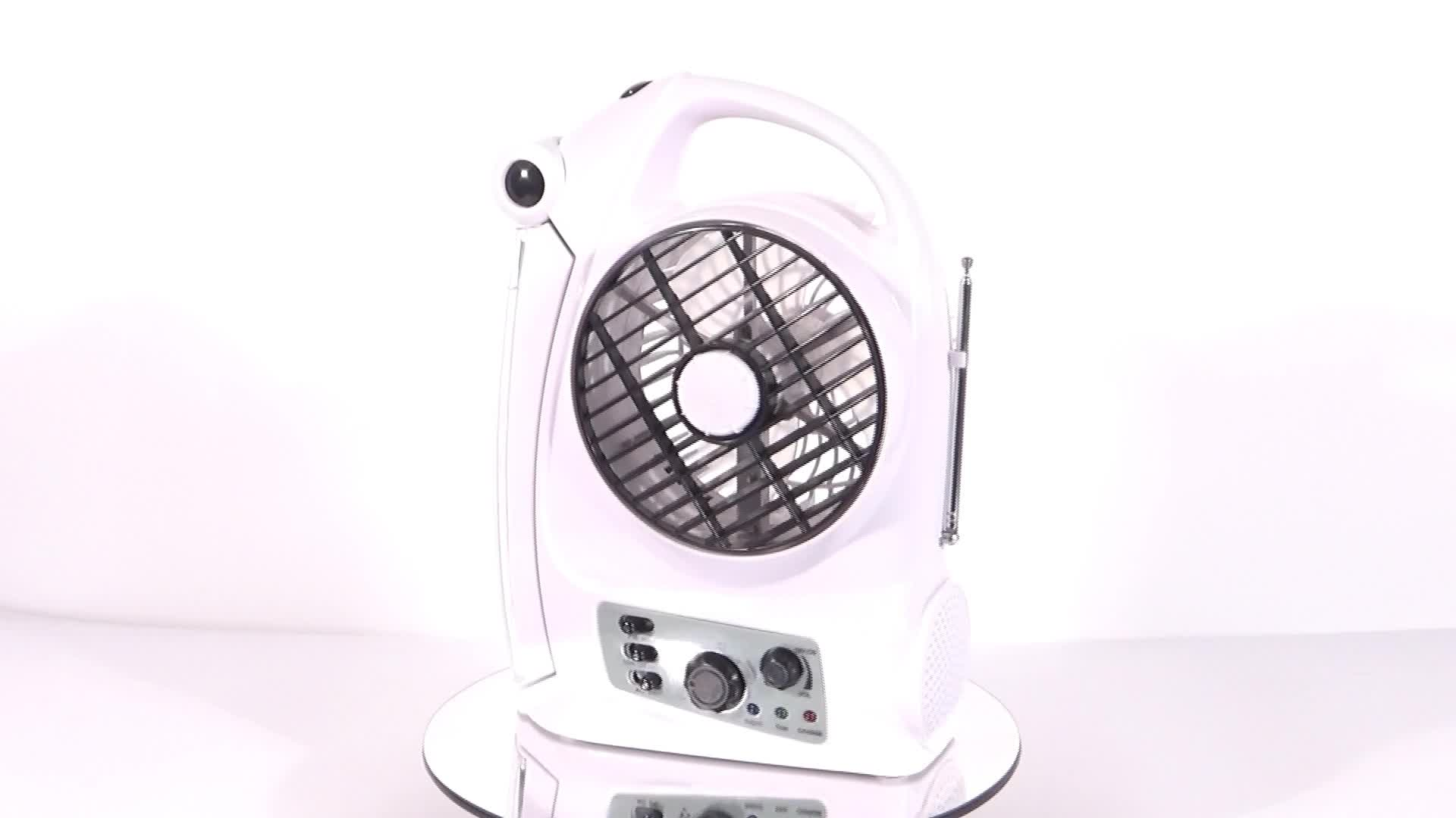 16 inch rechargeable oscillating wall mounted electric fan