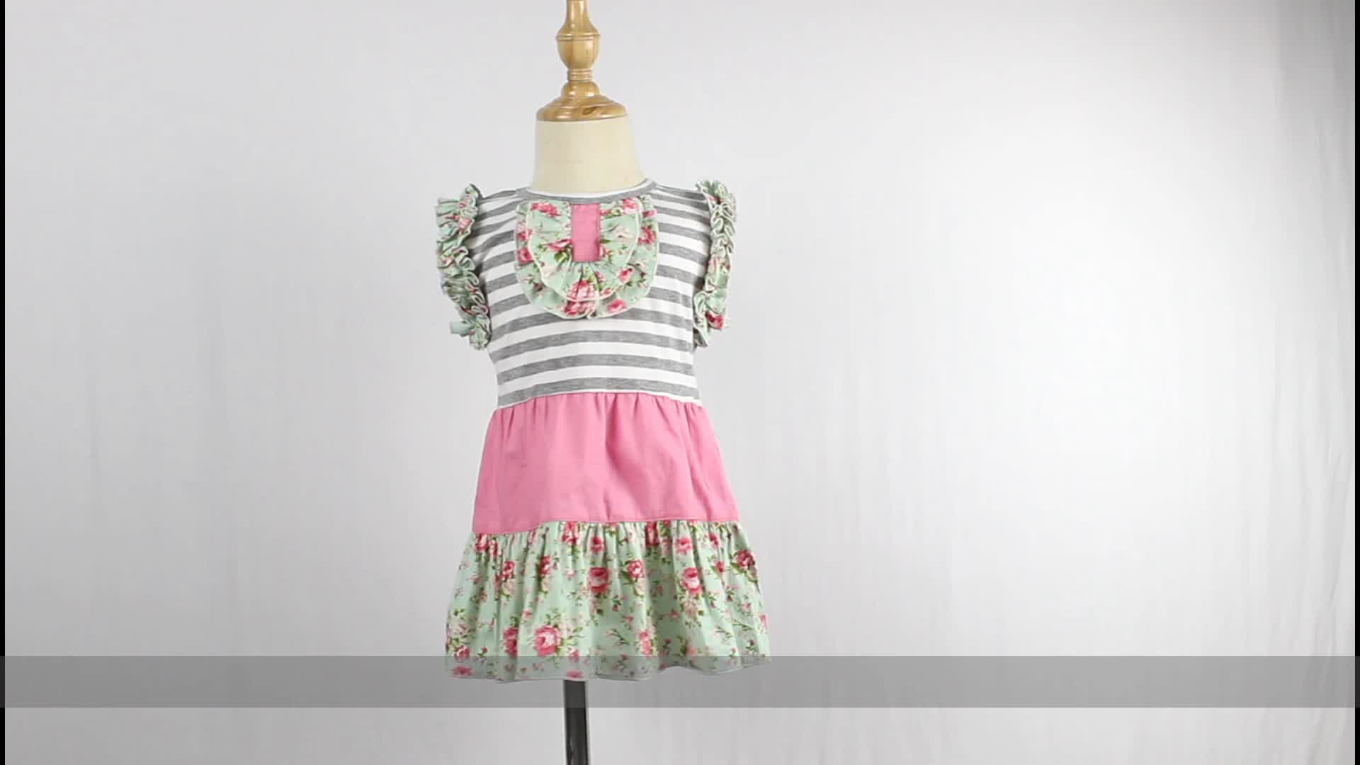 2020 Party Dress Clothes Kids Clothing Frock Boutique Baby Girl Dresses
