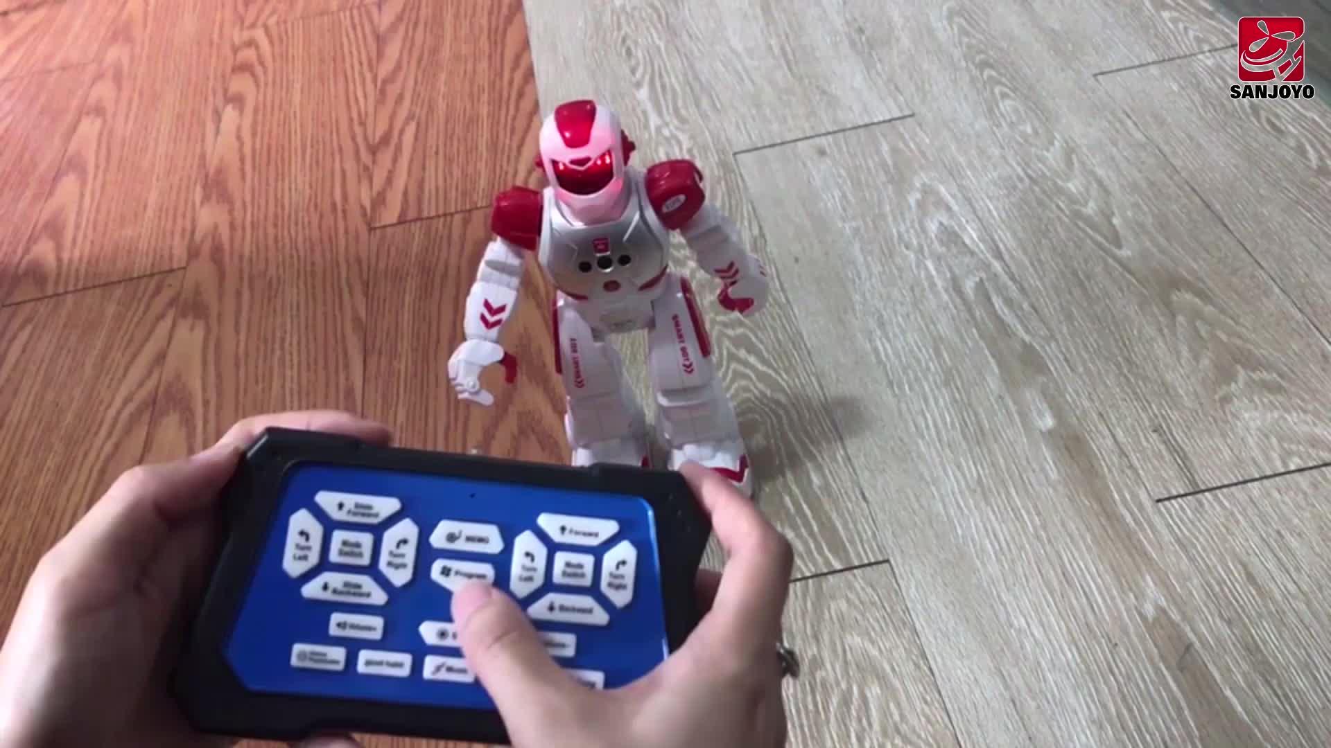 Professionele fabriek levering lage kosten elektronische gesture control walking dans intelligente robot SKY-822