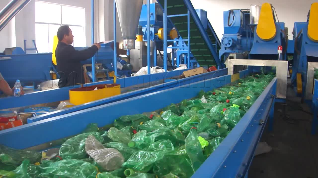 Pet Flakes Washing Recycling Line