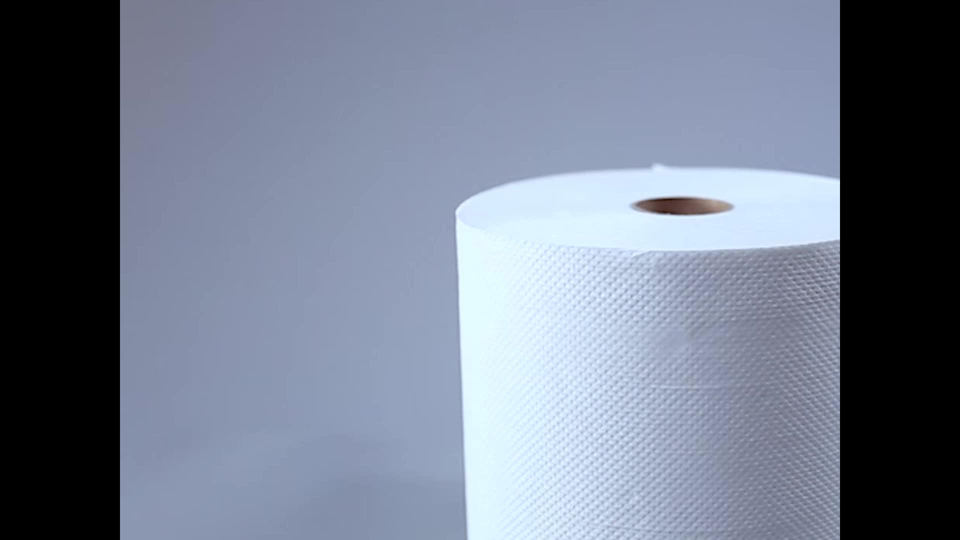 ขายร้อน2plyทิ้งครัวม้วนกระดาษผ้าขนหนู