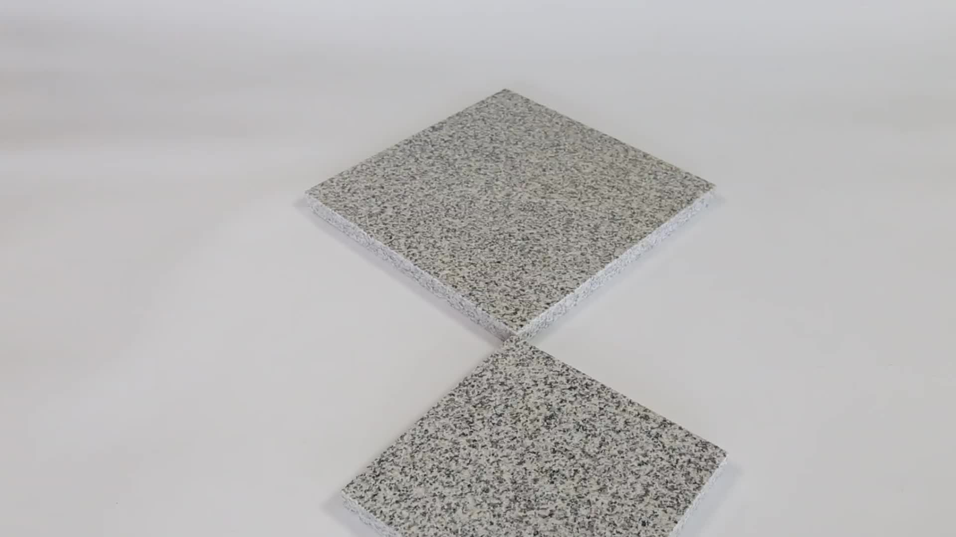 G603 Sesame Large Slab Chinese White Granite