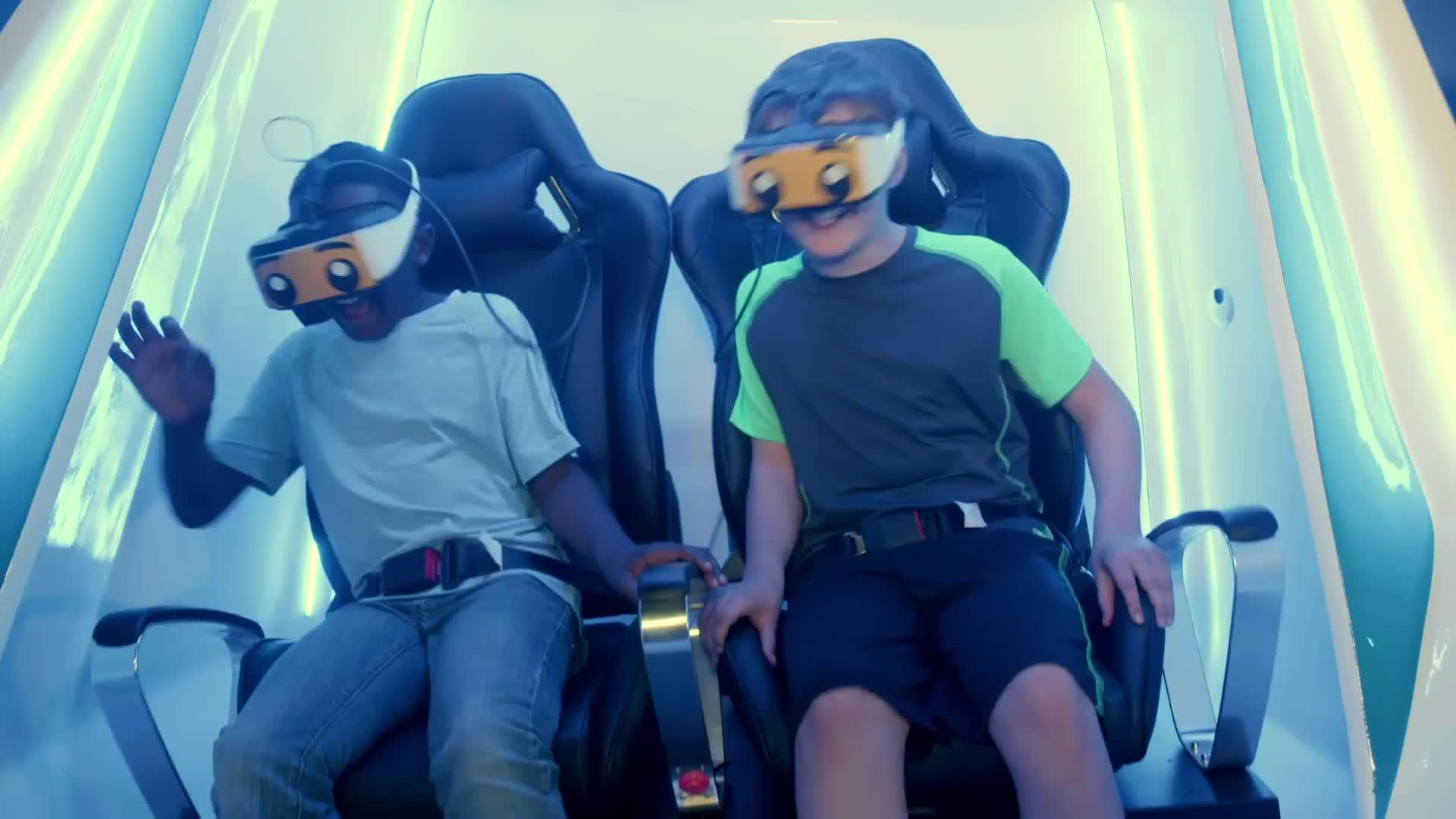 Amusement Park Rides 9D Cinema Vr Simulator Virtual Reality Simulation Rides 9D Vr Game Machine