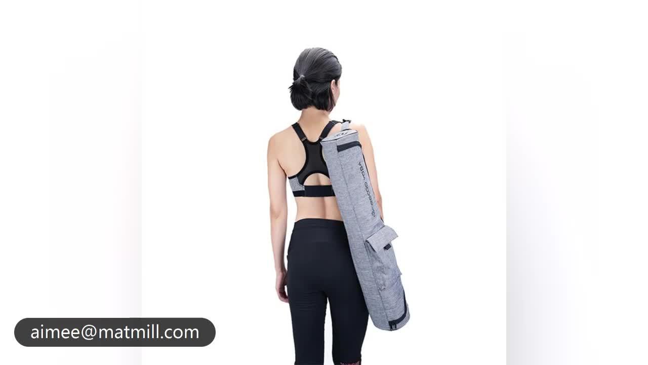 China Lieferant Umweltfreundliche Yoga Tasche mit Benutzerdefinierten Logo Yoga-Matte Tasche