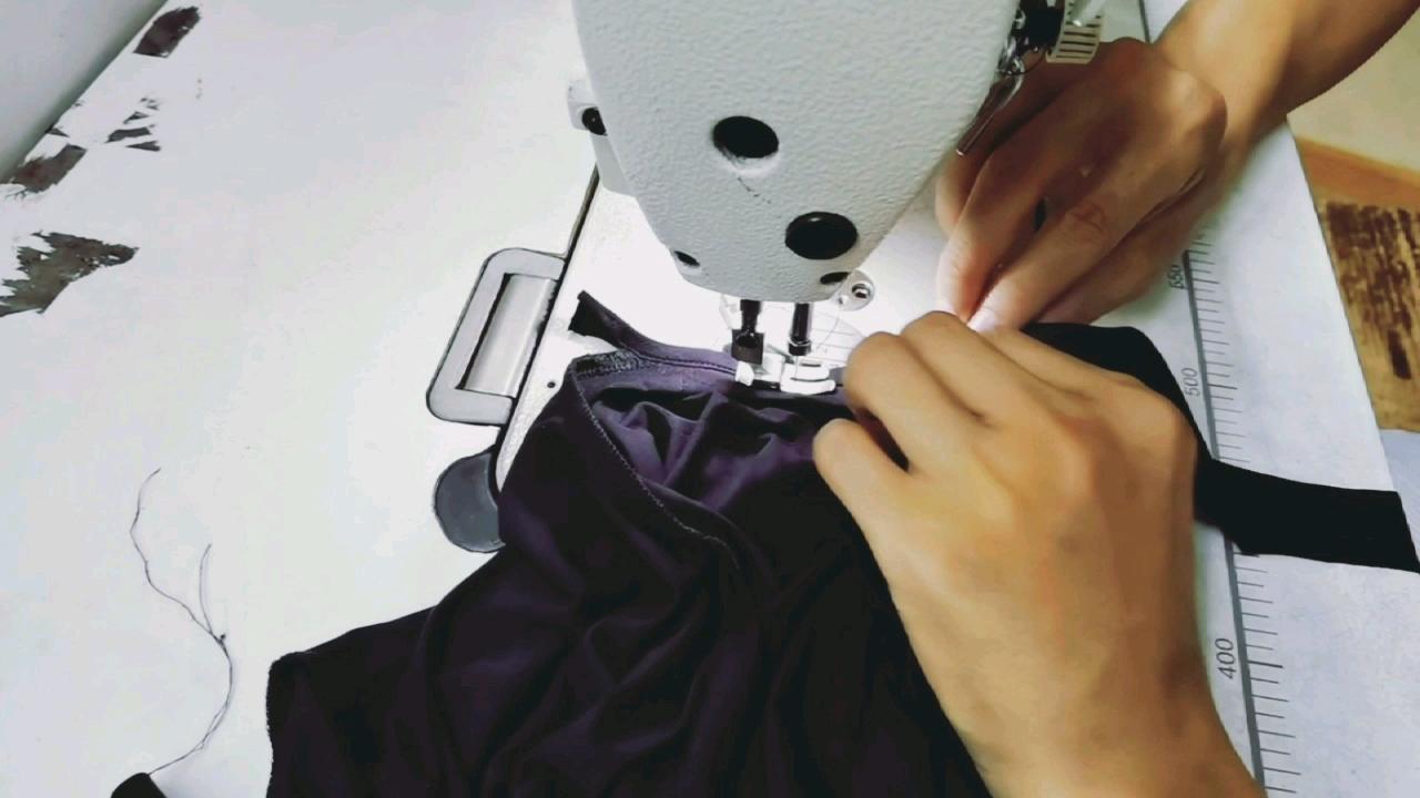 95% algodão E 5% Elastano T-Shirt de Algodão Pesado Curvo Hem tshirt