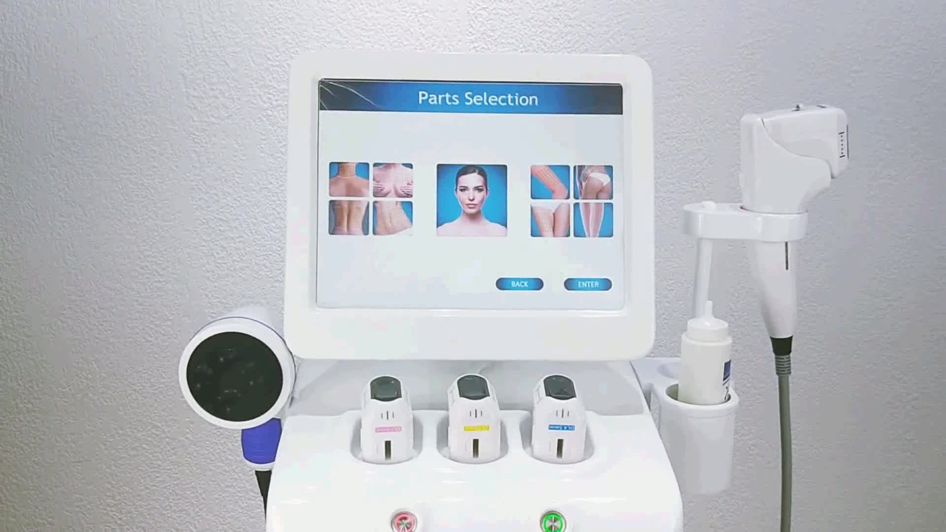 Factory Outlet 25000 shots Body Slimming Machine Hifu Ultrasound Anti Wrinkle 3D Hifu For Face Neck Body