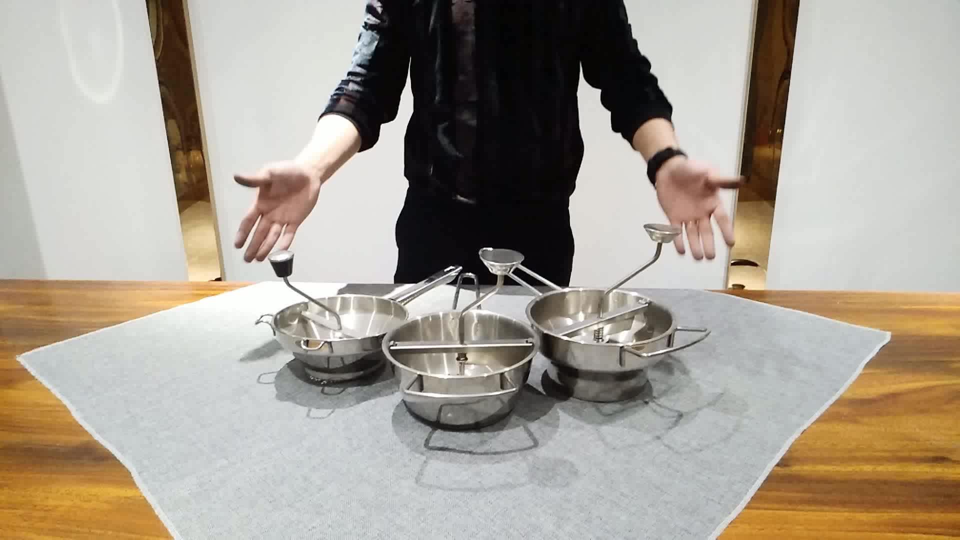 HG Multifunctionele Keuken Gereedschap groente molen roerzeef