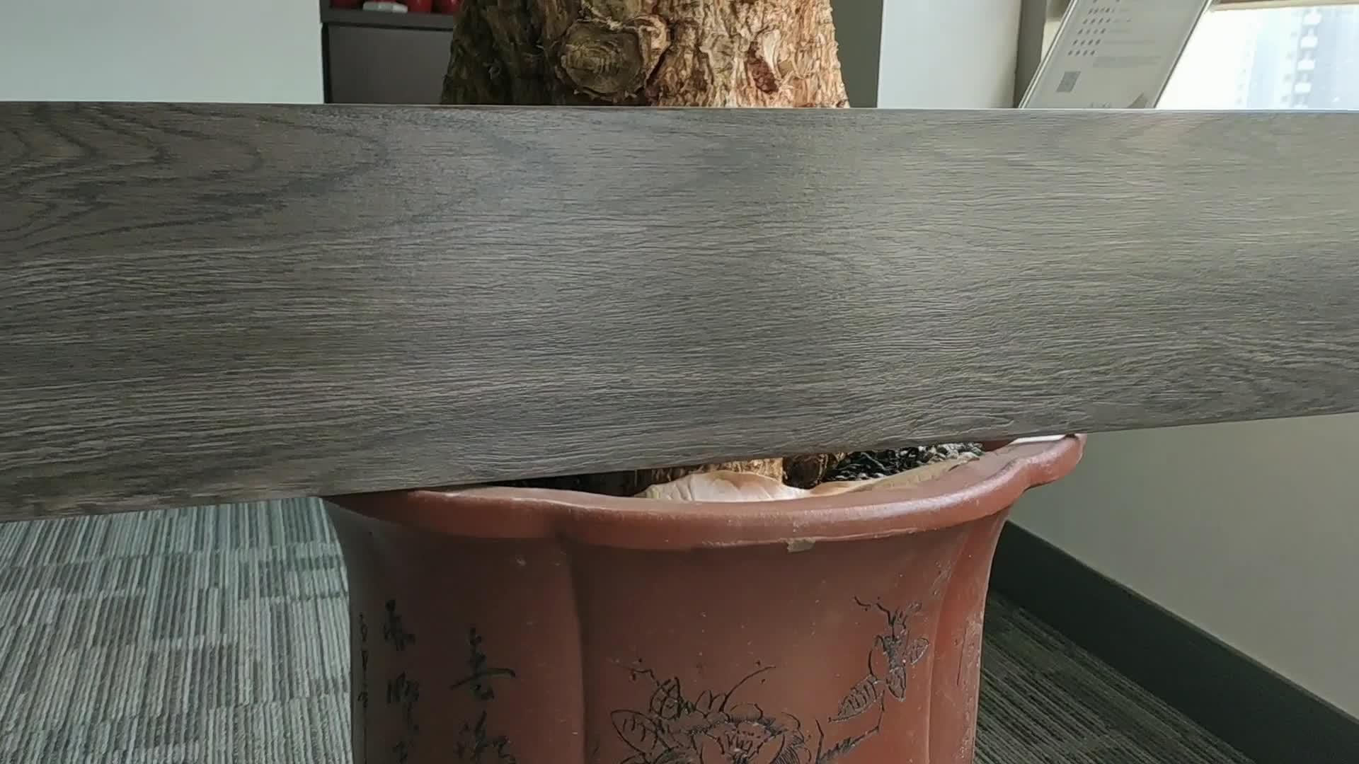 Berich 200x1000 de acabado de madera azulejo de piso de cerámica efecto madera azulejo de piso en venta