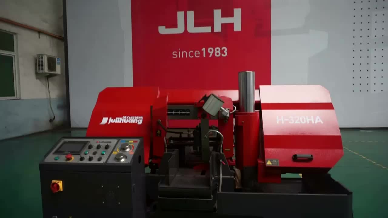 High Quality JULIHUANG Automatic OEM/ODM Industrial Iron Metal Quick Cutting Custom CE ISO Horizontal CNC Band Sawing Machine