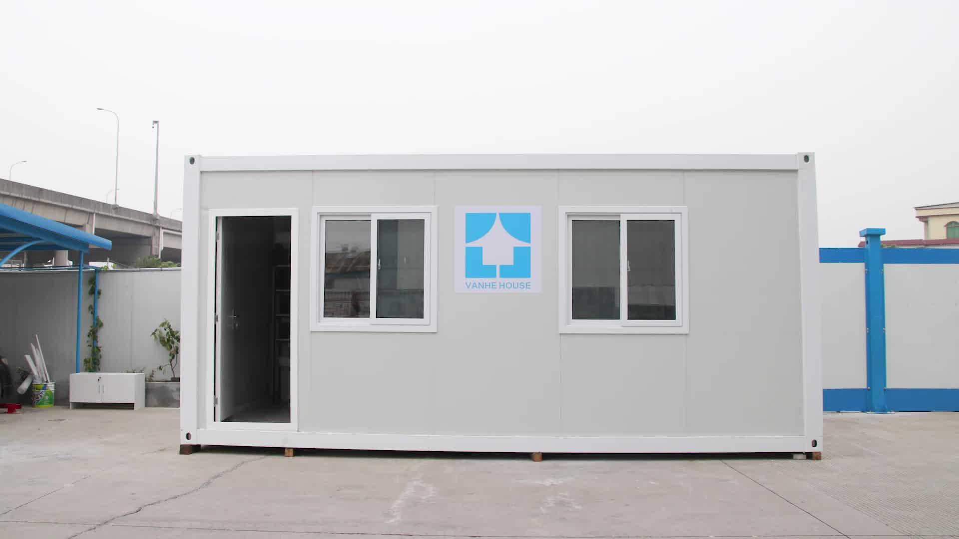 Çin Evleri Prefabrik Konteyner Evler Lüks