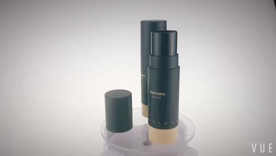plastic foundation stick packaging round make up tube for sale